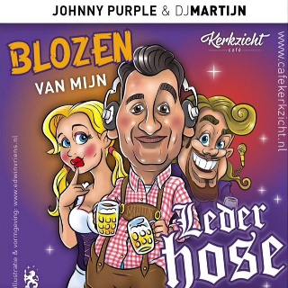 Feestknaller week 2 2015: Johnny Purple & DJ Martijn Ft. Cafe Lemans - Blozen Van Mijn Lederhose