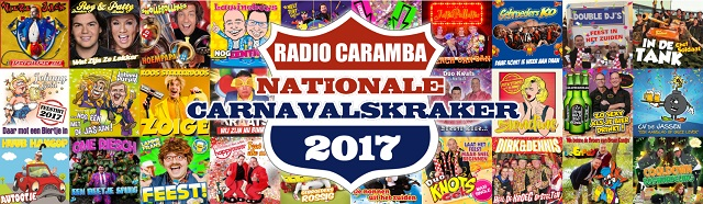 Stem op de Nationale Carnavalskraker 2017